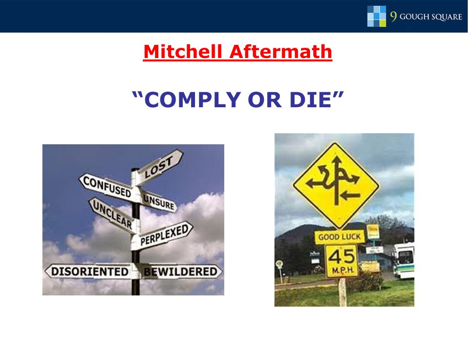Mitchell Aftermath COMPLY OR DIE