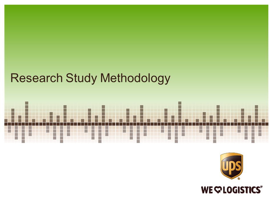 Research Study Methodology