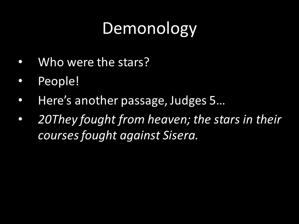 Who were the stars. People.