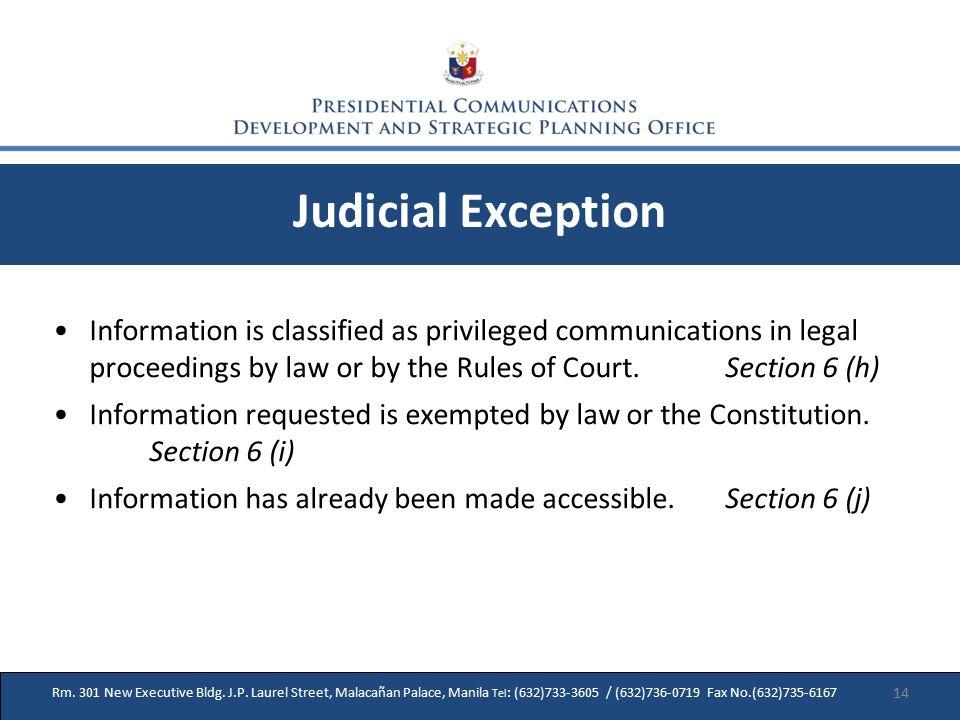 31 Rm. 301 New Executive Bldg. J.P.