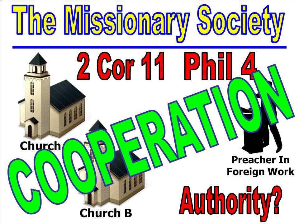 Thematic Studies In Bible Basics Preacher In Foreign Work Church AChurch B