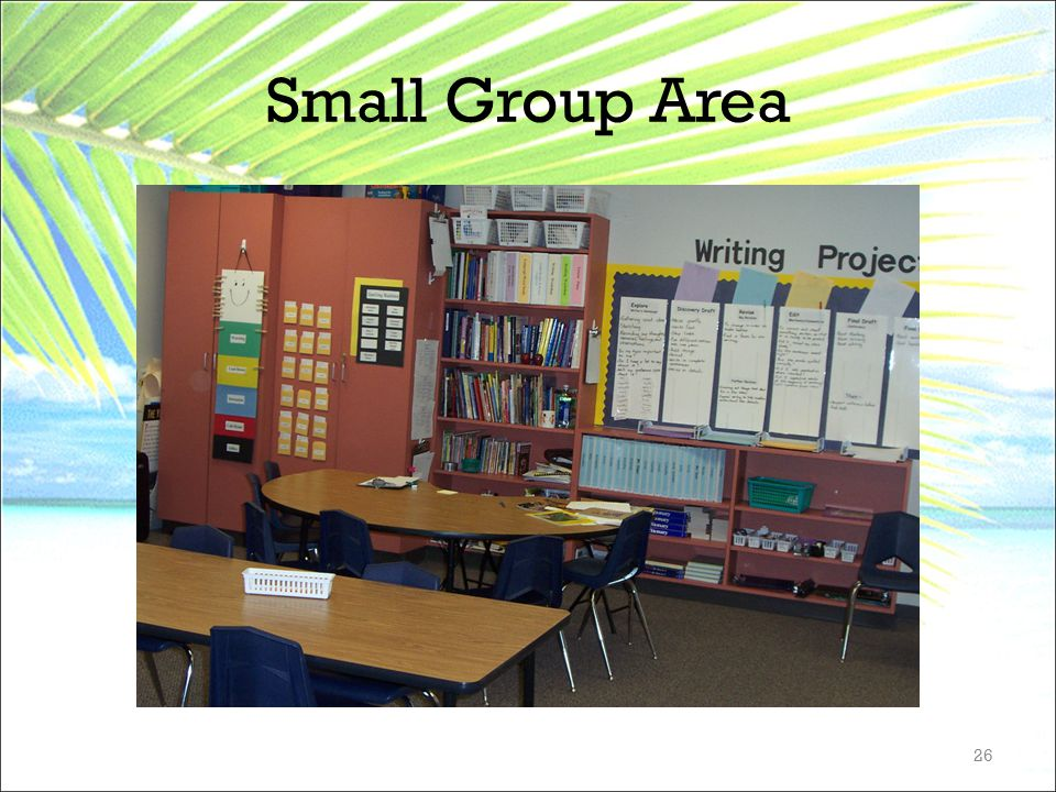 Small Group Area 26