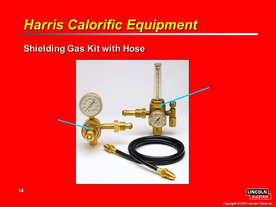 14 Flowmeter Flowgauge Harris Calorific Equipment Shielding Gas Kit with Hose