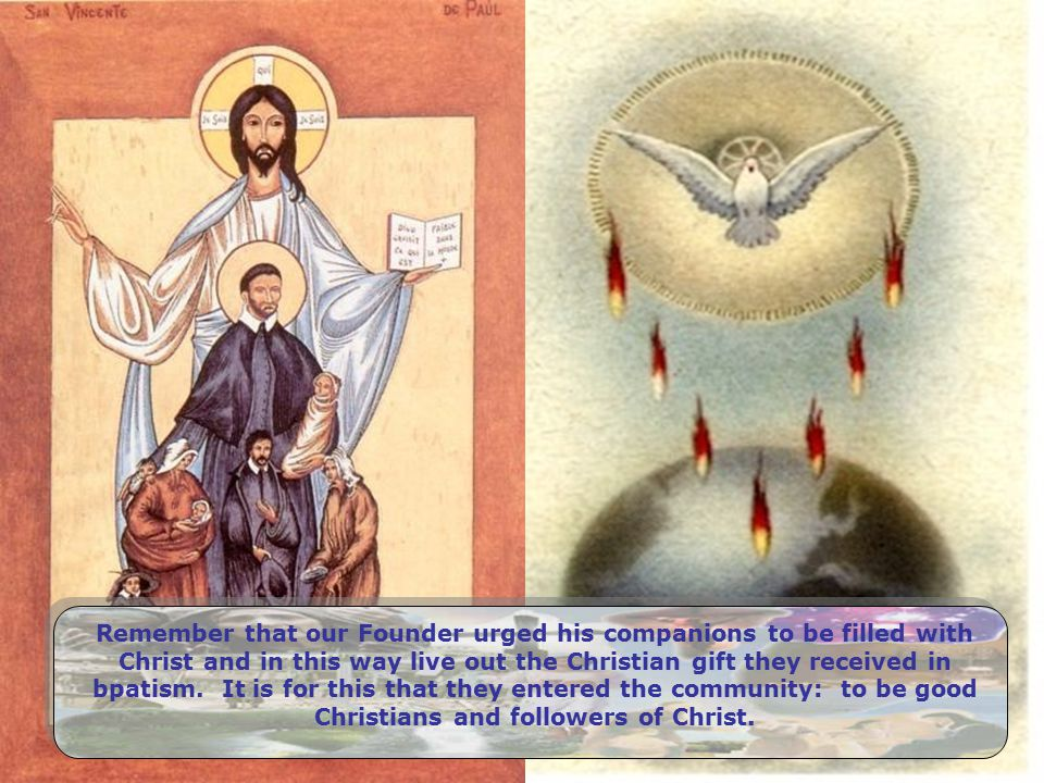 To be Christian and to see our brother/sister suffering without weeping with him/her, without being sick with him/her.