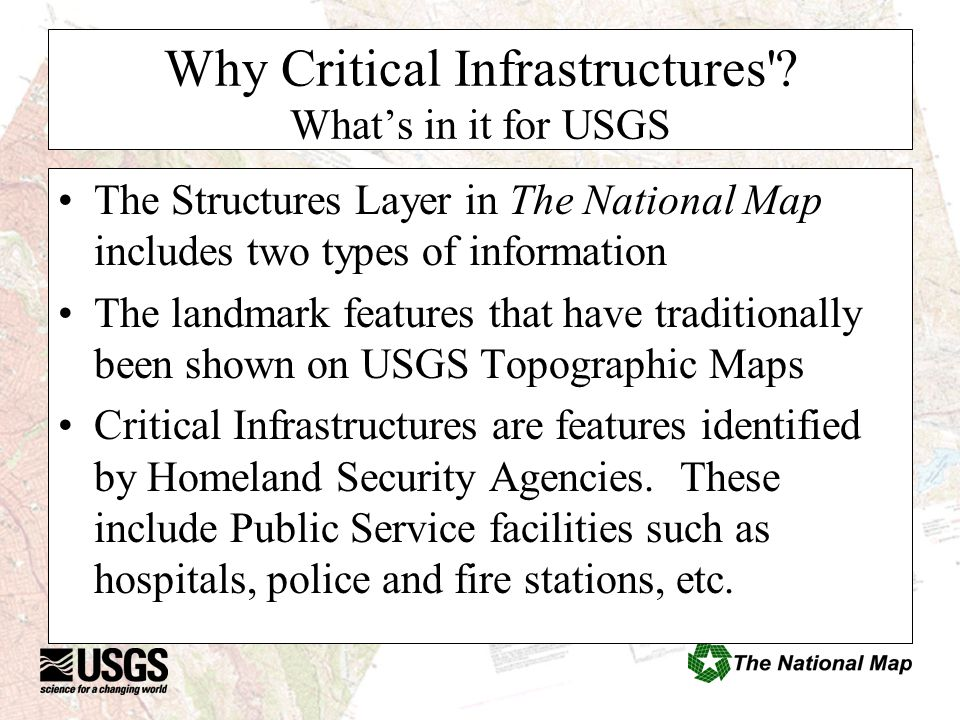 Why Critical Infrastructures .