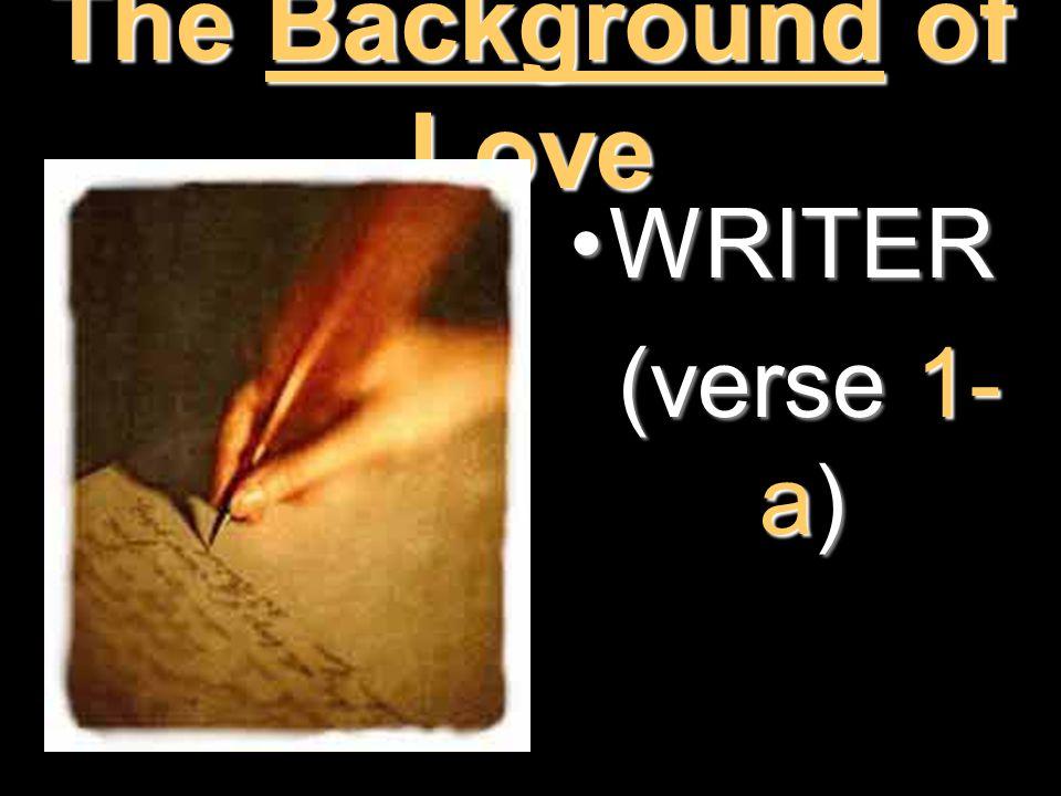WRITERWRITER (verse 1- a) (verse 1- a)