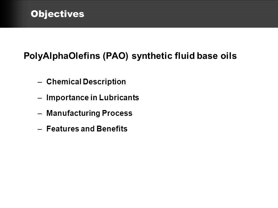 API* Basestock Categories Manufacturing Process *API = American Petroleum Institute