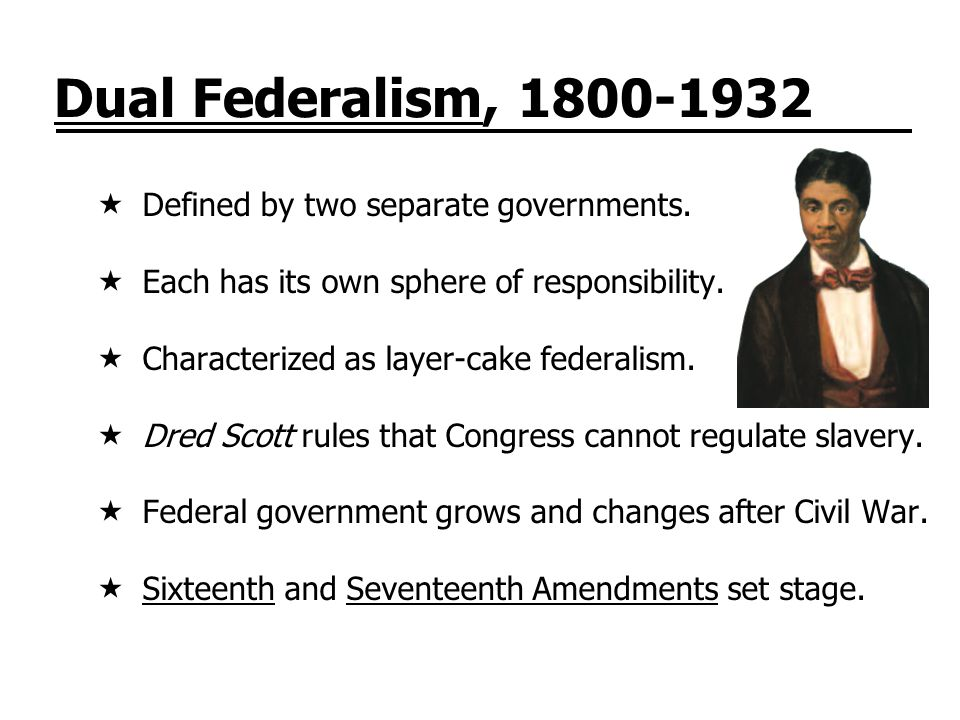 Cooperative Federalism, 1932-80  Cooperative federalism defined by collaboration.