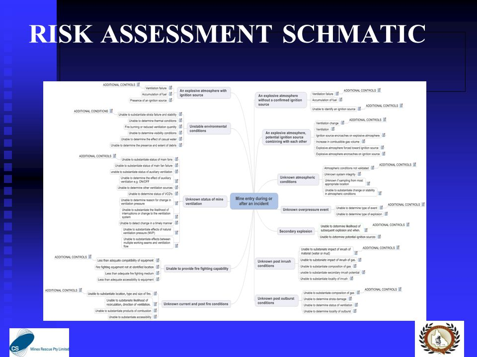 RISK ASSESSMENT SCHMATIC