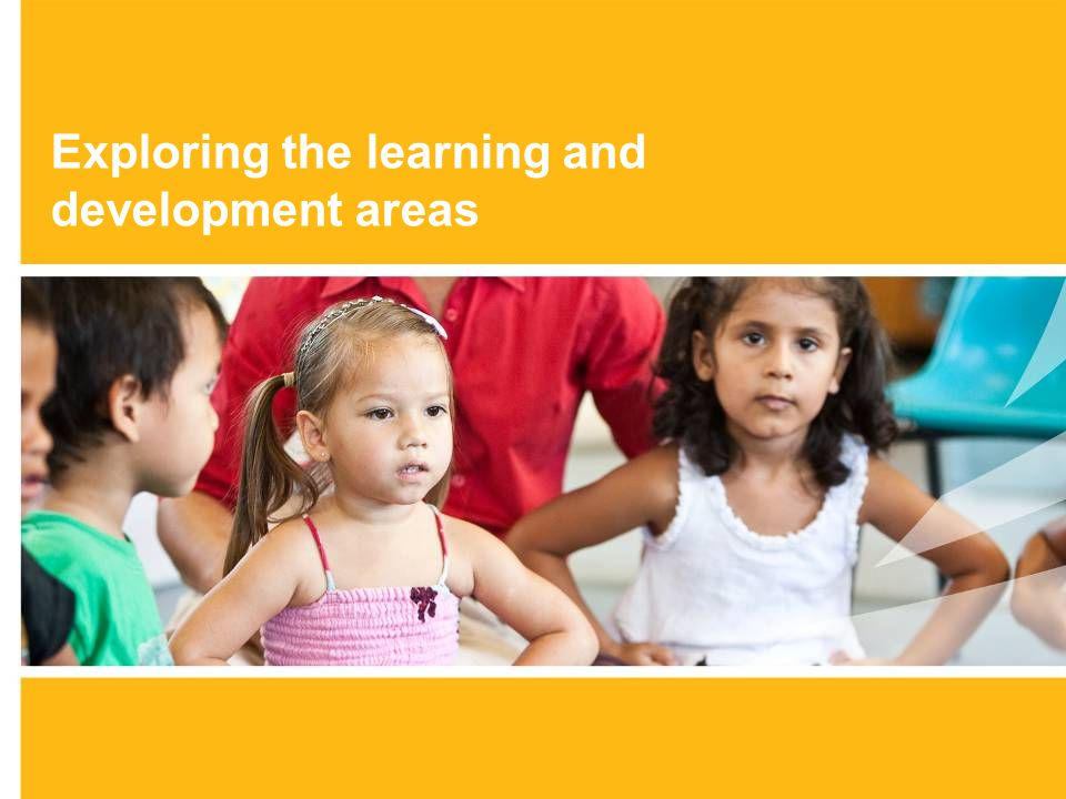 Exploring the learning and development areas