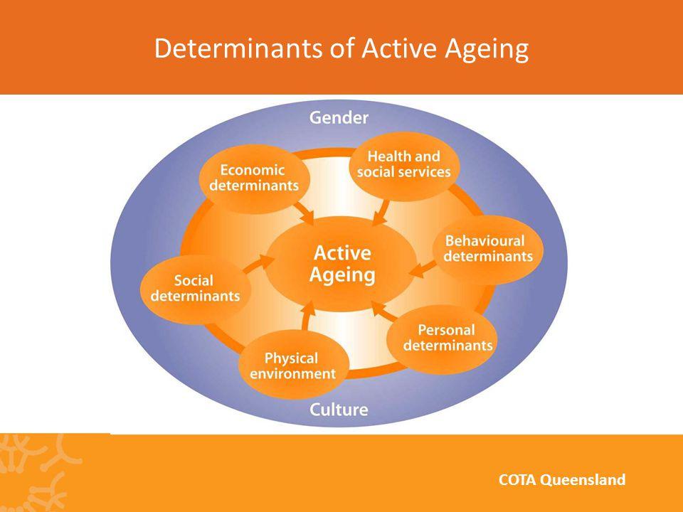 Determinants of Active Ageing COTA Queensland