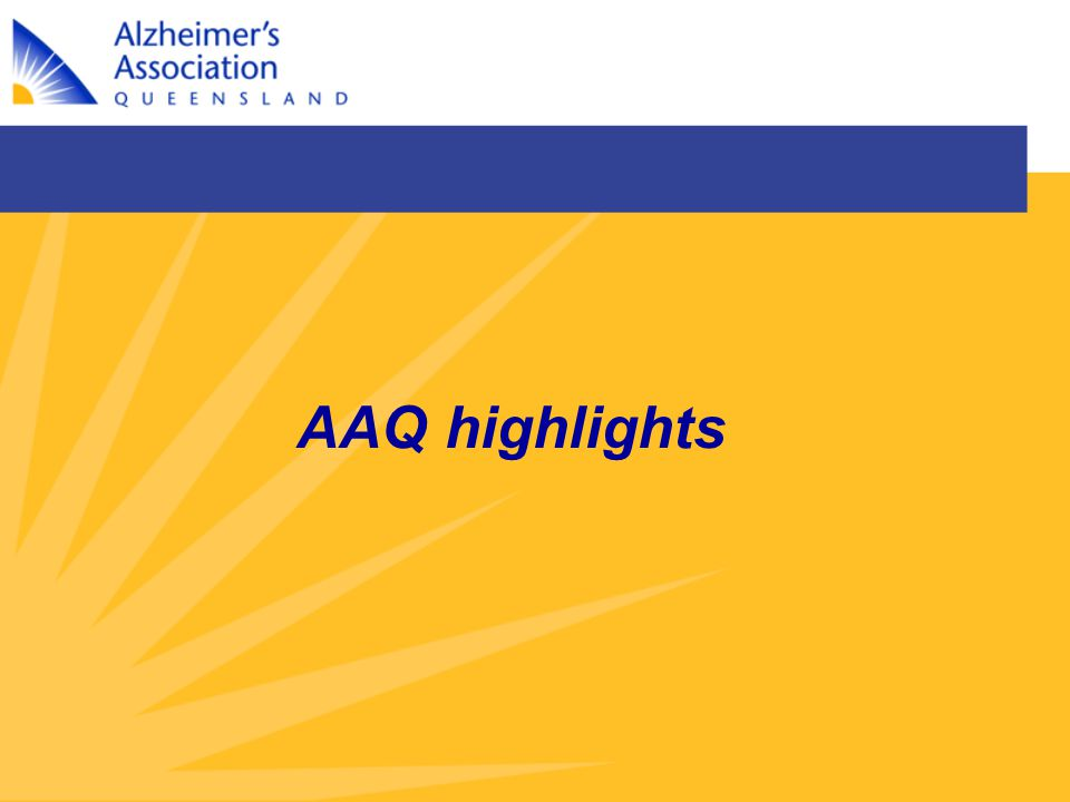 AAQ highlights