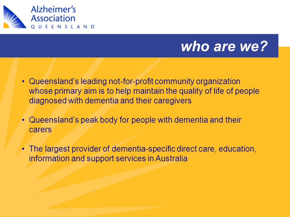 Rural and Remote Mobile Dementia Service AAQ will provide fully equipped and staffed, state-of-the-art vehicle which will incorporate a wide range of information and resources eg journals, videos, books; internet access; and a private counseling/family meeting area.