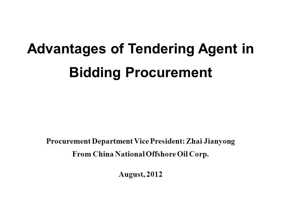 Contents I.Organizations Forms of Bidding Procurement II.