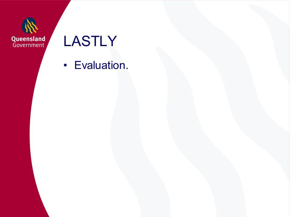 LASTLY Evaluation.