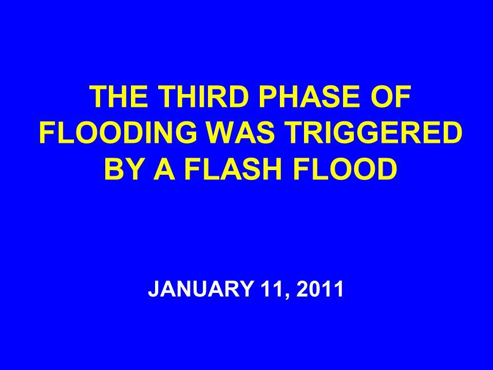 FLOOD WATERS CRIPPLE COAL INDUSTRY: JAN 7, 2011