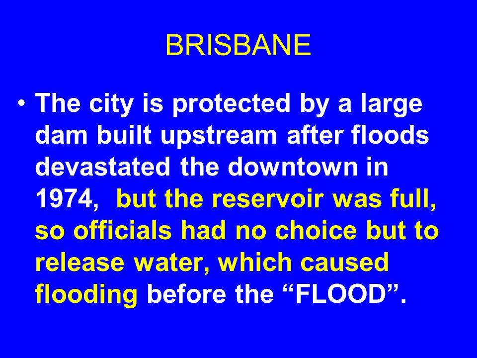 BRISBANE PREPARING FOR FLOODING: JAN 8, 2011