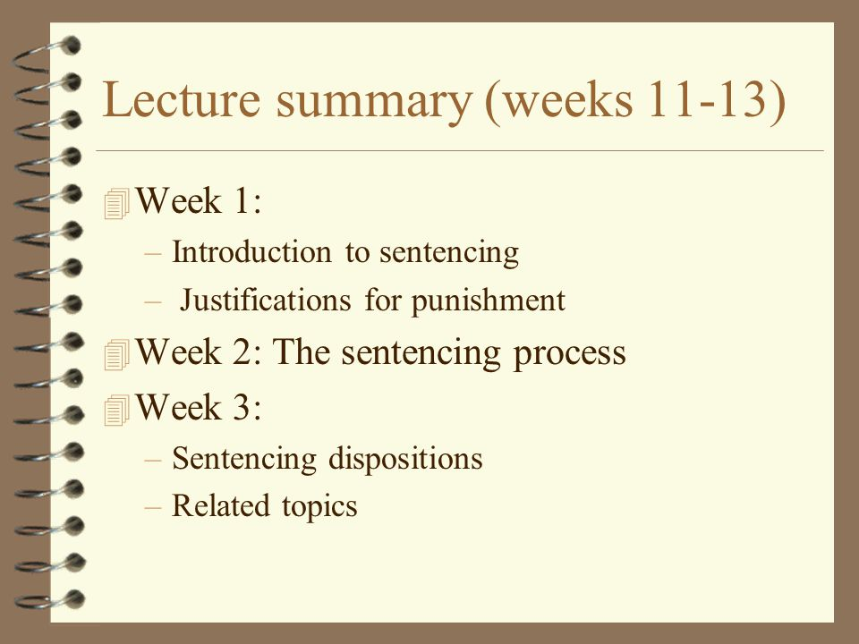 Justifications for punishment 4 Criminology 4 theories of punishment 4 modern trends 4 purposes for punishment as expressed in Qld Penalties and Sentences Act
