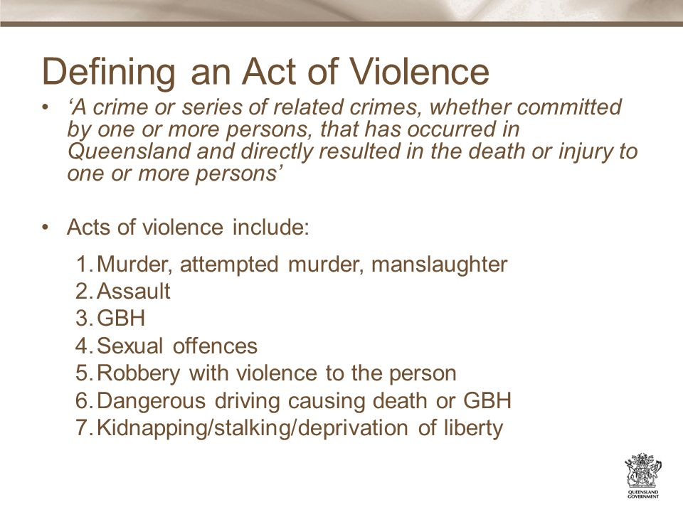 Provides victims perhaps their only voice within the system Leads to stronger sense of procedural justice, and less likely to result in complaints Helps inform sentencing court about the impact upon the victim VAQ: Guide to making a Victim Impact Statement About to commence NGO training for VIS' Encouraging victim participation