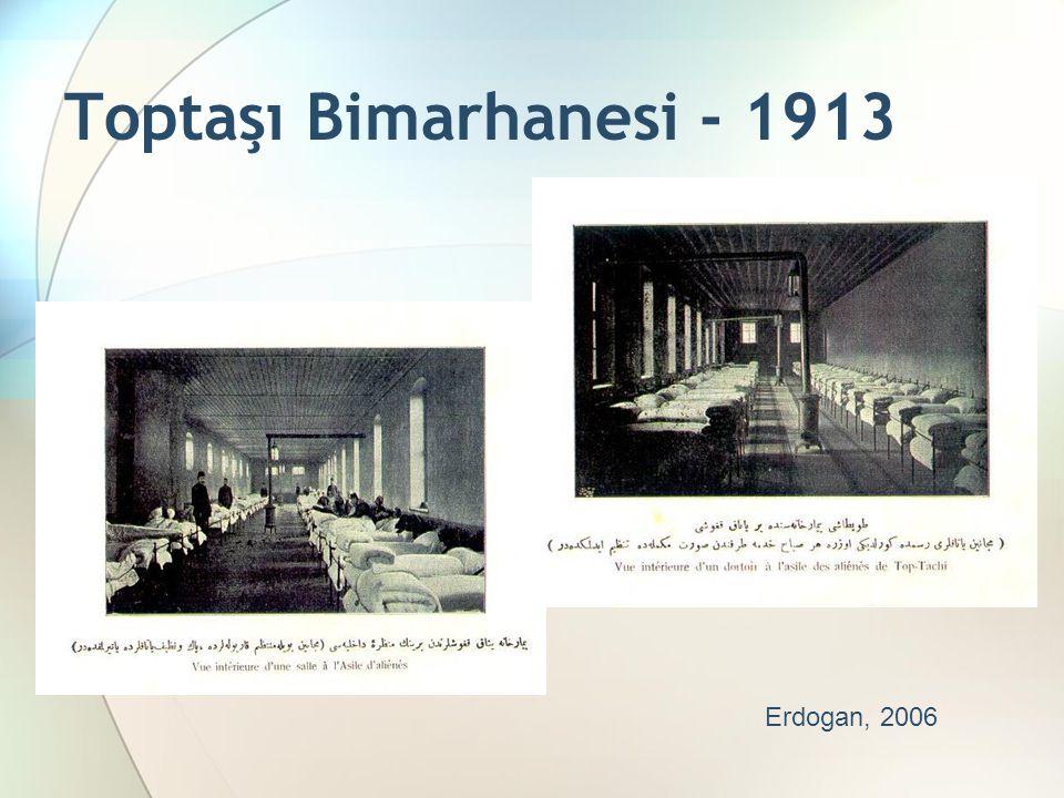 Toptaşı Bimarhanesi - 1913 Erdogan, 2006