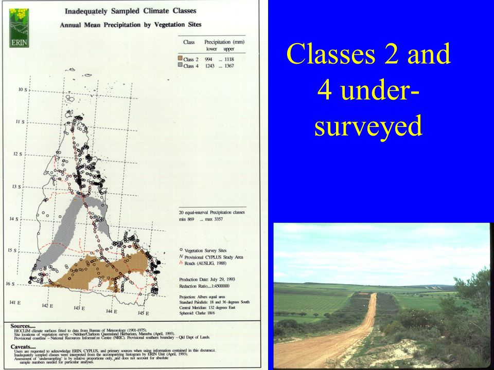 Classes 2 and 4 under- surveyed