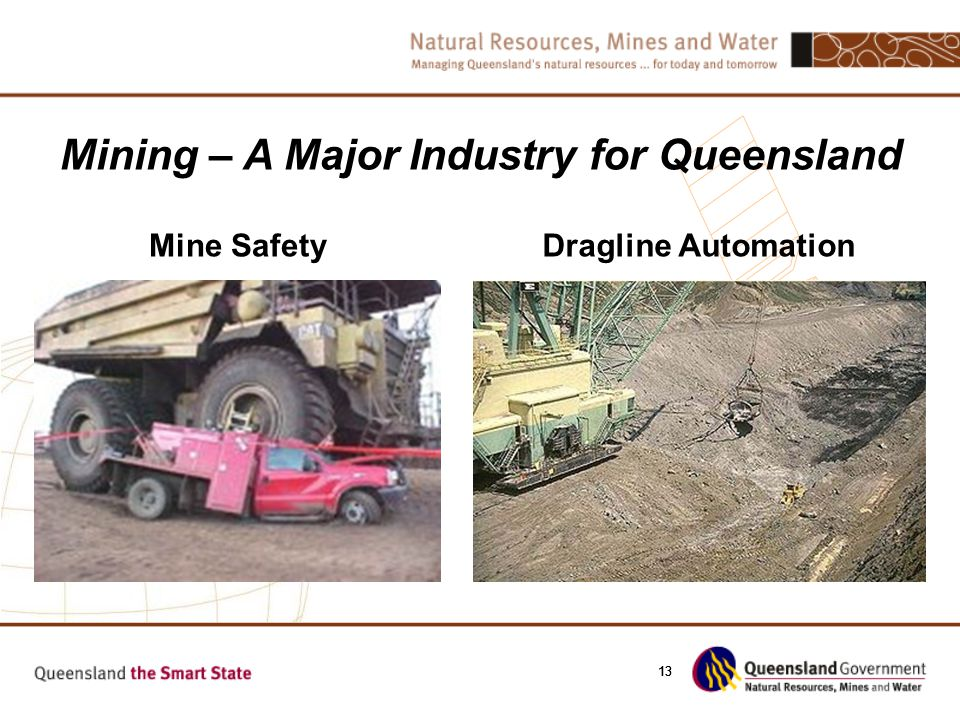 13 Mine SafetyDragline Automation Mining – A Major Industry for Queensland