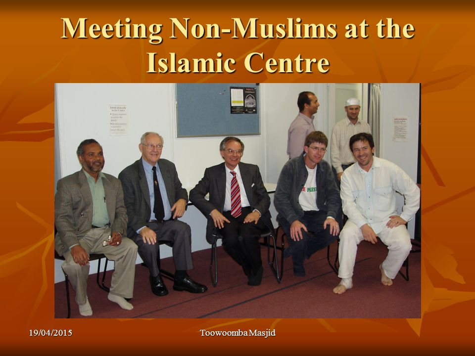 Meeting Non-Muslims at the Islamic Centre 19/04/2015Toowoomba Masjid