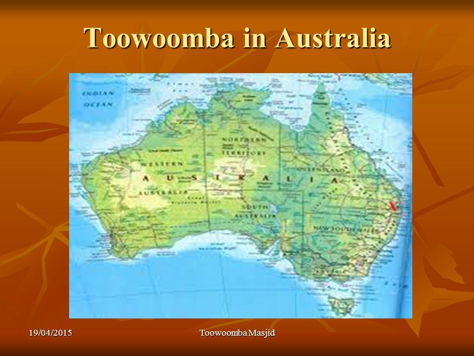 Toowoomba in Australia 19/04/2015Toowoomba Masjid