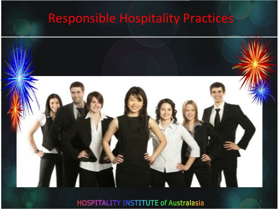 1 Responsible Hospitality Practices 1