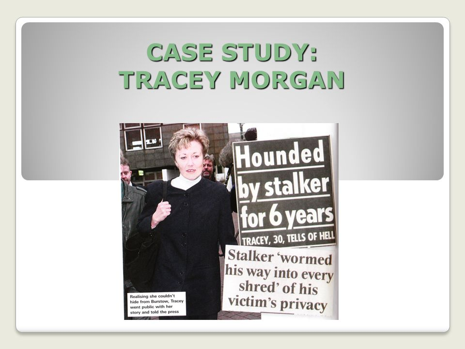 CASE STUDY: TRACEY MORGAN