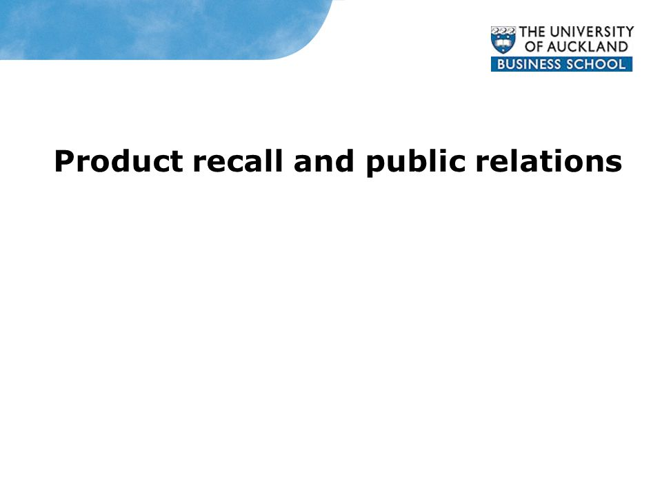 Mattel Product recall and public relations