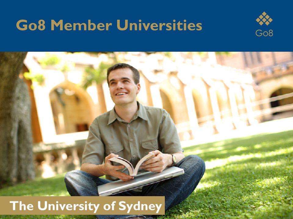 The University of Sydney Go8 Member Universities