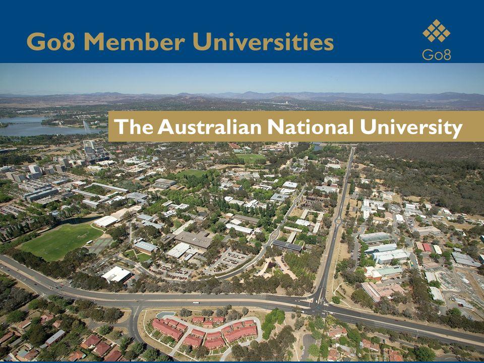 The Australian National University Go8 Member Universities