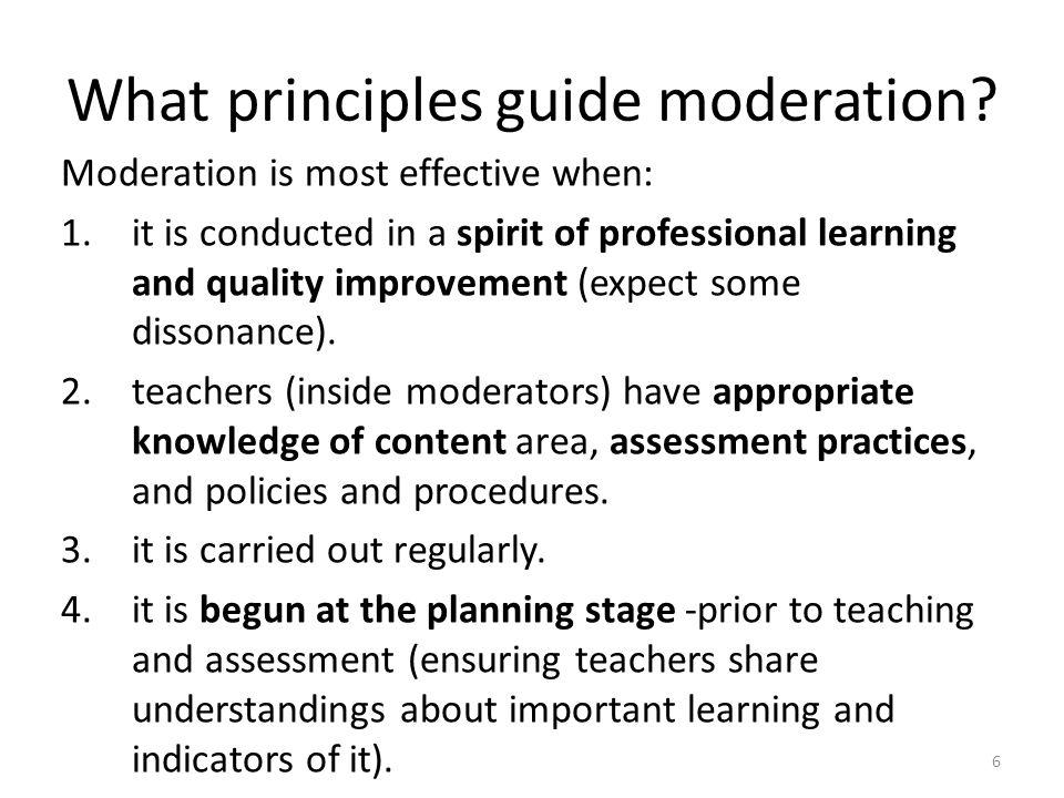 7 Further principles 5.