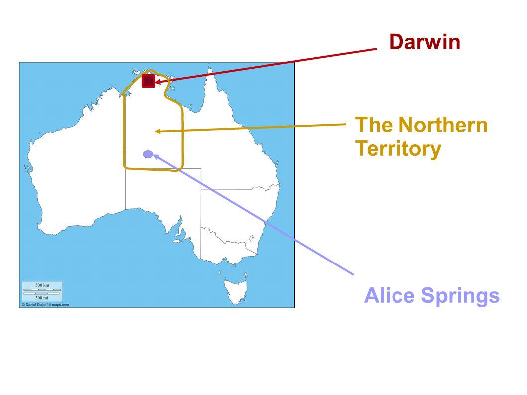 The Northern Territory Alice Springs Darwin