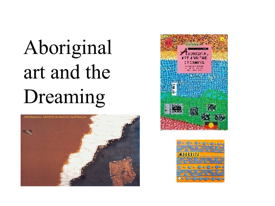 Plan for today Learn about diversity of Aboriginal artists around Australia Learn about Dreaming and symbolism in traditional Aboriginal art See examples of contemporary Aboriginal art Create your own symbols to tell your own important story Part of the Reconciliation sculpture at Victor Harbor celebrating 20 years of cultural exchange between Victor Harbor Primary, Fregon Anangu School and the Ngarrindjeri community