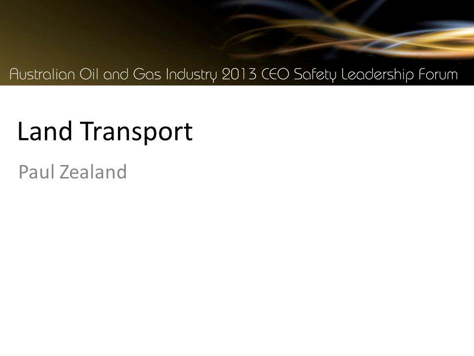 Land Transport Paul Zealand