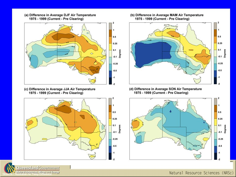 Slide 24 – Australian Air Temp Difference