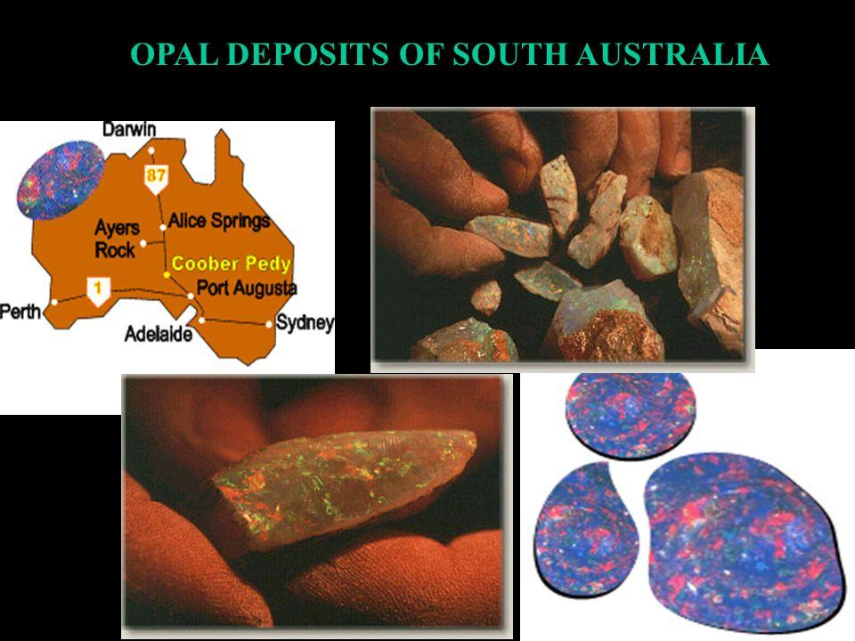 Precious Opal Localities of South Australia