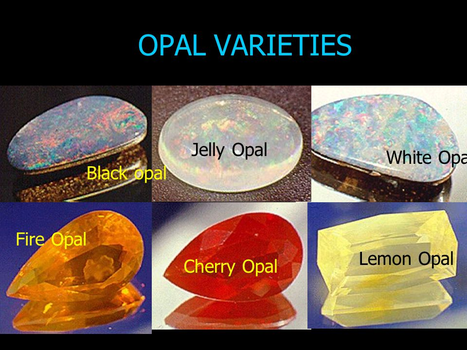 PRECIOUS OPAL DEPOSITS OF AUSTRALIA Worlds most important source (discovered 1872).