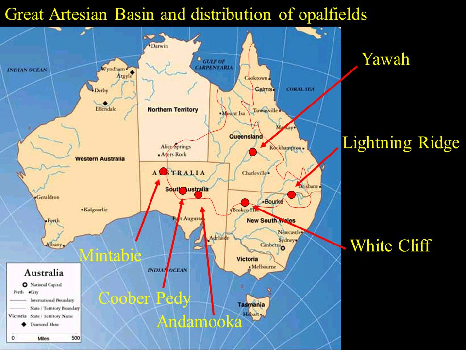 Light Opal is the most common type of opal found and is mined primarily in South Australia (SA).