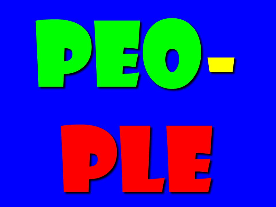 Peo- ple