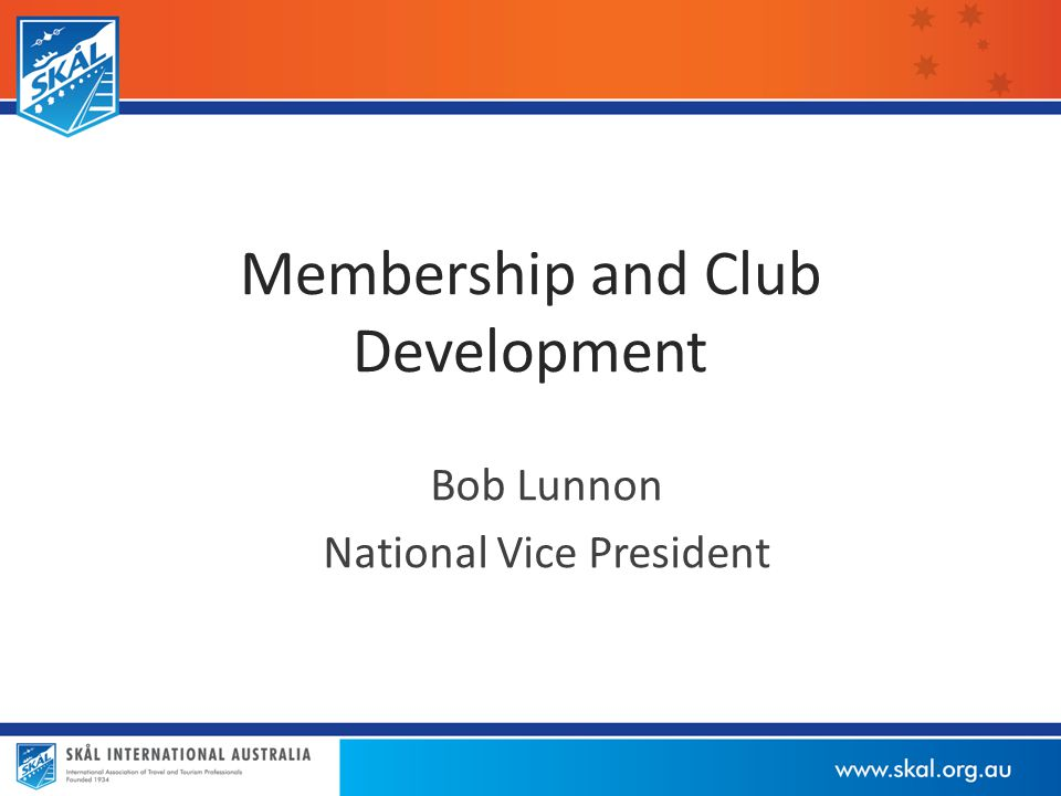 Current Situation - 2014 25 Clubs formed in 53 years since 1960 3 Clubs in suspension – Newcastle, Illawarra, Alice Springs Now 22 Clubs in 2014 5 new Clubs in past 12 years – Capricornia, Kununurra, Bunbury/Margaret River, Albany, Southern Gold Coast Declining membership, particularly since 2009