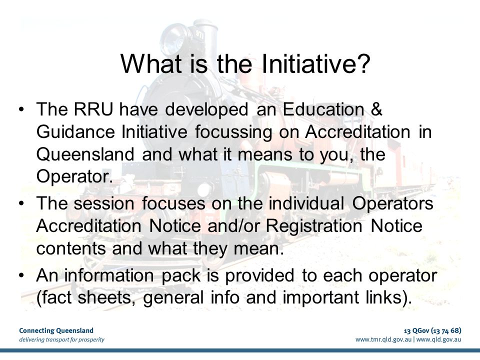 What is the Initiative.