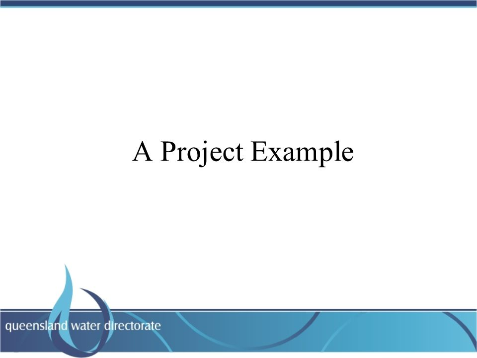 A Project Example