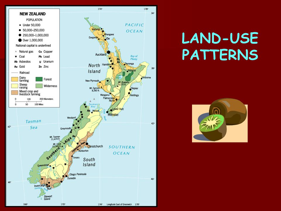 LAND-USE PATTERNS