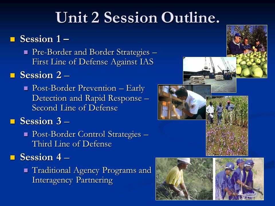 Unit 2 Session Outline.