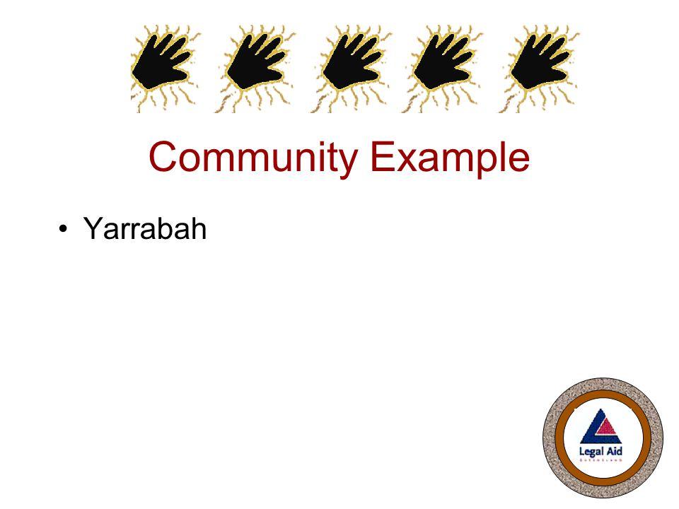 Community Example Yarrabah