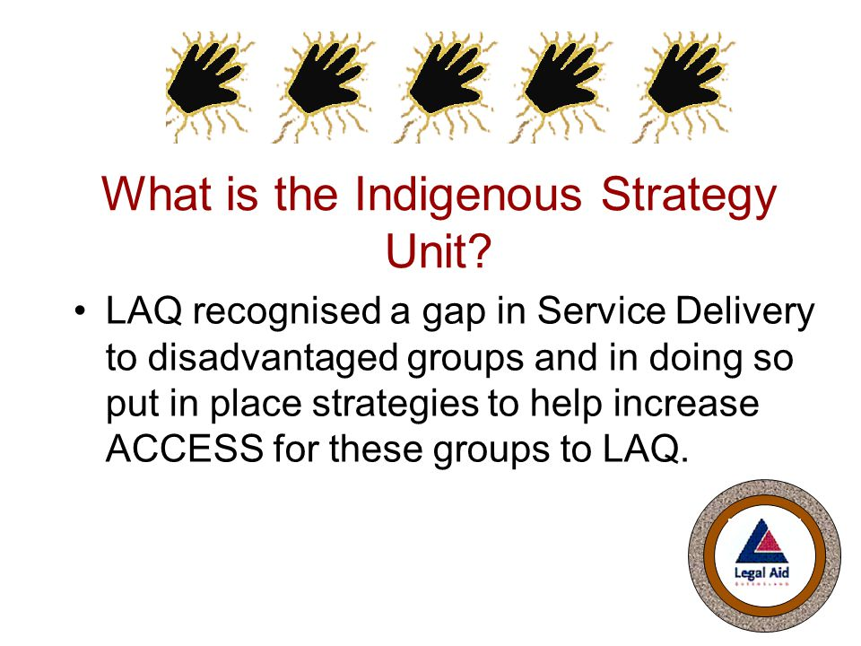 What is the Indigenous Strategy Unit.