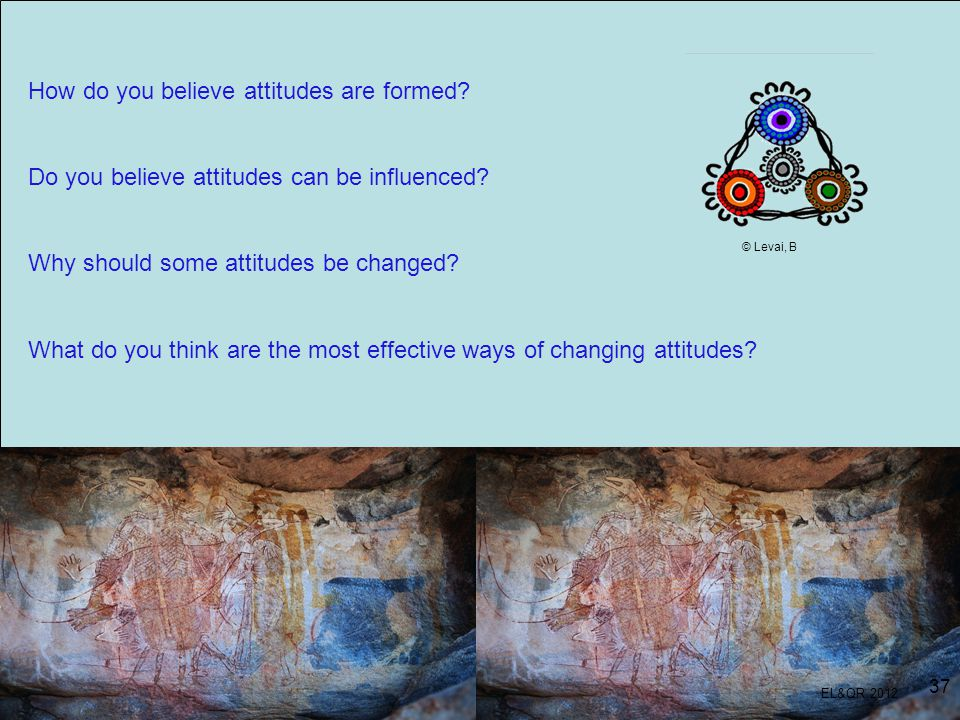How do you believe attitudes are formed? Do you believe attitudes can be influenced? Why should some attitudes be changed? What do you think are the m
